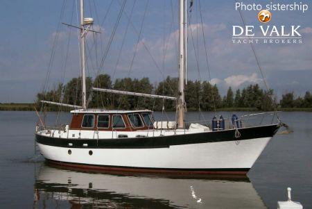 FISHER 37 motorsailer for sale | De Valk Yacht broker