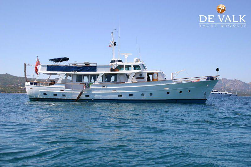 Dutch Steel Motor Yacht Motor Yacht For Sale De Valk