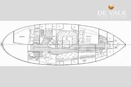hans christian 41t 350798_38c hans christian 41t sailing yacht for sale de valk yacht broker Simple Boat Wiring Diagram at n-0.co