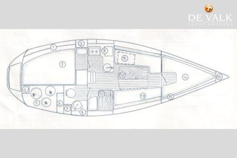 JEANNEAU SUN DREAM 28 sailing yacht for sale | De Valk Yacht ... on