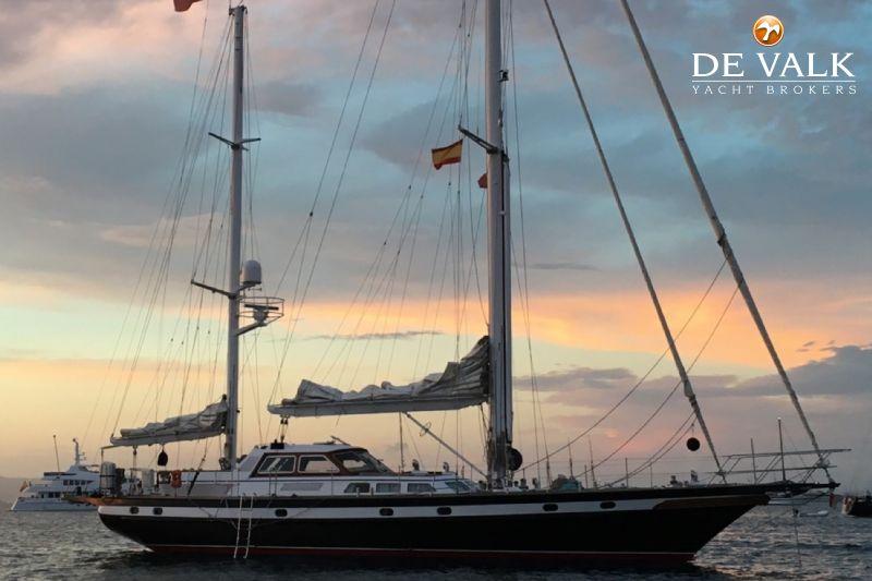 STEEL MOTOR SAILER sailing yacht for sale | De Valk Yacht broker