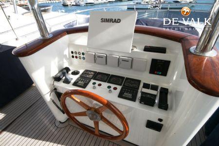 Ulrich Heesen mulder 88 flybridge motor yacht for sale de valk yacht broker