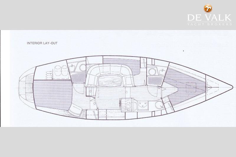 NAUTICAT 39 sailing yacht for sale | De Valk Yacht broker