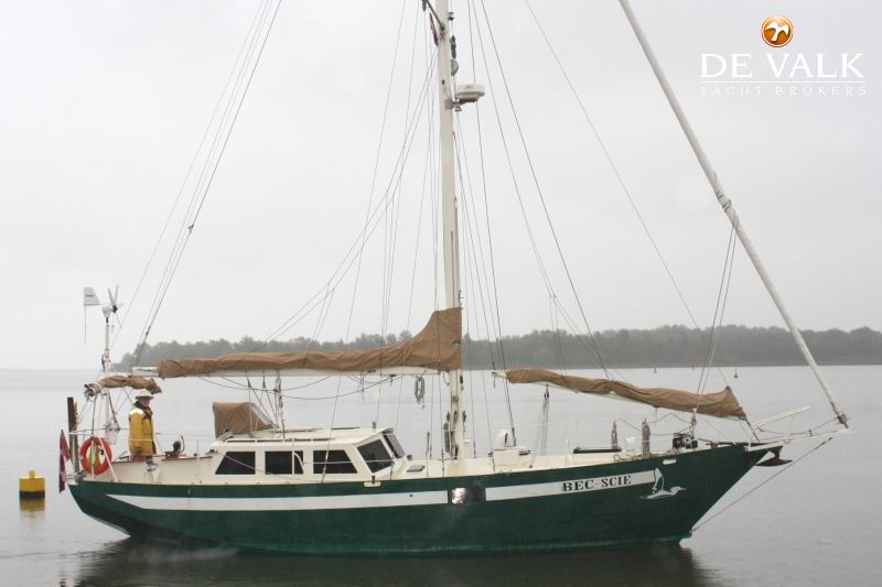 STEEL ONE OFF 35 FT SY sailing yacht for sale | De Valk